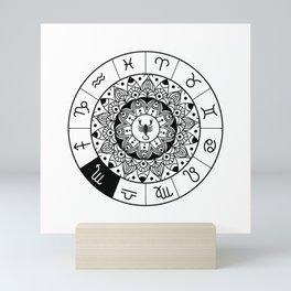 Scorpio  TShirt Zodiac Astrology Shirt Horoscope Gift Idea Mini Art Print