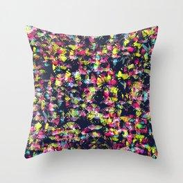 Texture Watercolor Throw Pillow