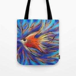 Poloniussa - red angelfish Tote Bag