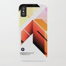 Abstrakt. iPhone X Slim Case