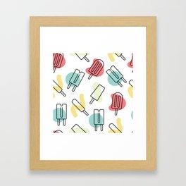 Summer Treats Framed Art Print