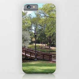 Scenic Pond iPhone Case