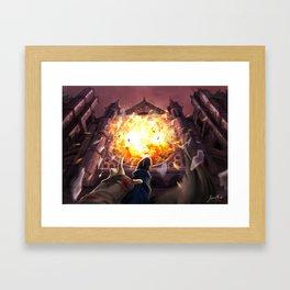 Ballad of fallen angels Framed Art Print