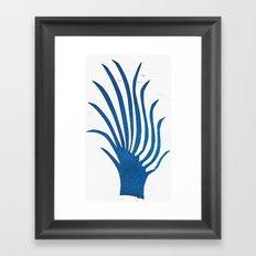 Spindle Fingers Framed Art Print