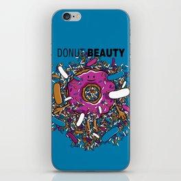 Donut Beauty iPhone Skin