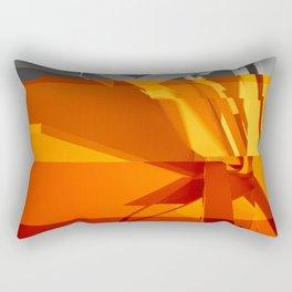 Abstract Glitch 02 Rectangular Pillow