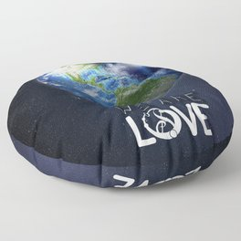 """We Are Love """"Your  Love"""" Floor Pillow"""