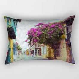 Old Cartagena Rectangular Pillow