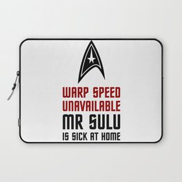 Warp Speed Laptop Sleeve