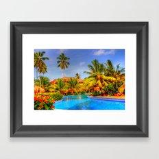 Dreams Punta Cana II Framed Art Print