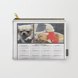 Gremlin Chihuahua and Funny Chihuahuas Calendar 2017 Carry-All Pouch