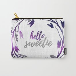 Hello Sweetie, Galaxy Wreath Carry-All Pouch