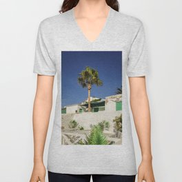 A holiday look Unisex V-Neck