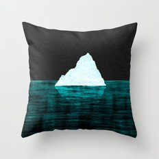 ICEBERG AHEAD! Throw Pillow