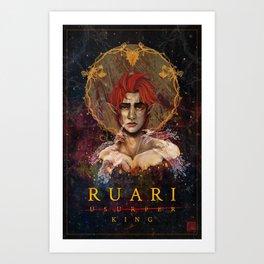 Ruari Art Print