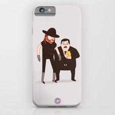 The Undertaker & Paul Bearer - Pro Wrestling WWE Illustration iPhone 6 Slim Case