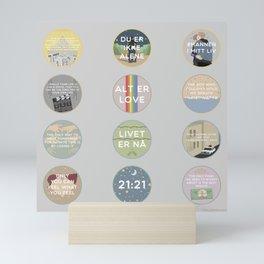 EVAK: A MINIMALIST LOVE STORY VOL. II Mini Art Print