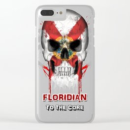 To The Core Collection: Florida Clear iPhone Case
