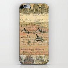 Hope On iPhone & iPod Skin