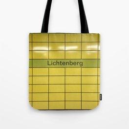 Berlin U-Bahn Memories - Lichtenberg Tote Bag