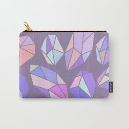 purple pink gem pattern Carry-All Pouch