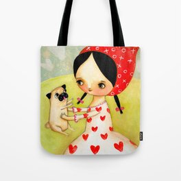 For the LOVE of PUGS Tote Bag