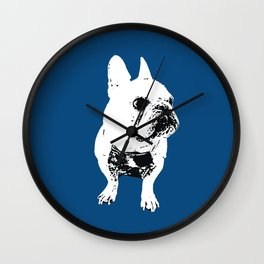 George the cutest French Bulldog Wall Clock
