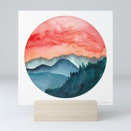 Mini dreamy landscape II Mini Art Print