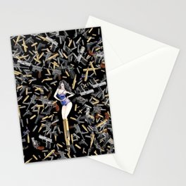 Bullet Girl Stationery Cards