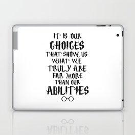 Dumbledore's quote Laptop & iPad Skin