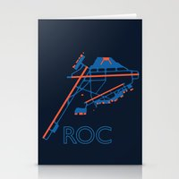 60s Stationery Cards featuring Rochester (ROC) - 60s by Kyle Rodgers