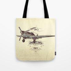 1943 caza Tote Bag