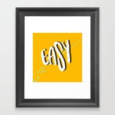 Easy Framed Art Print