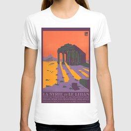 Vintage poster - Syria T-shirt