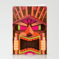 tiki Stationery Cards featuring Tiki by Cimone Key
