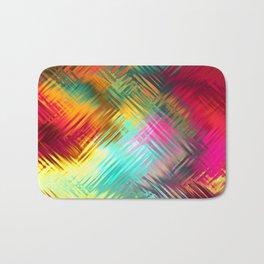 Colorful glass pattern Bath Mat