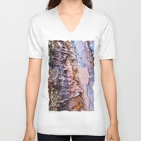 nick cave V-neck T-shirts featuring Cave by Dalmatica