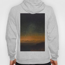 Smyth - The Great Comet of 1843 Sunset Magical Stars Hoody