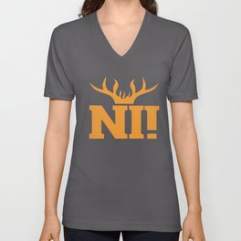 Crewneck camp t-shirts Unisex V-Neck