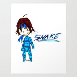 MGS - Snake Art Print