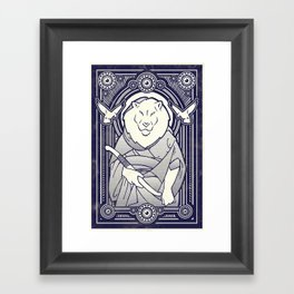 Visitor from the South Framed Art Print