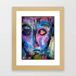 Vibrant Expression Framed Art Print