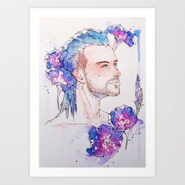 Nyx Ulric Art Print