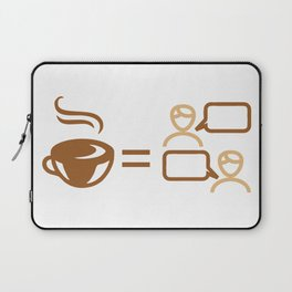 coffee friends Laptop Sleeve