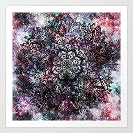 Intergalactic Mandala Art Print