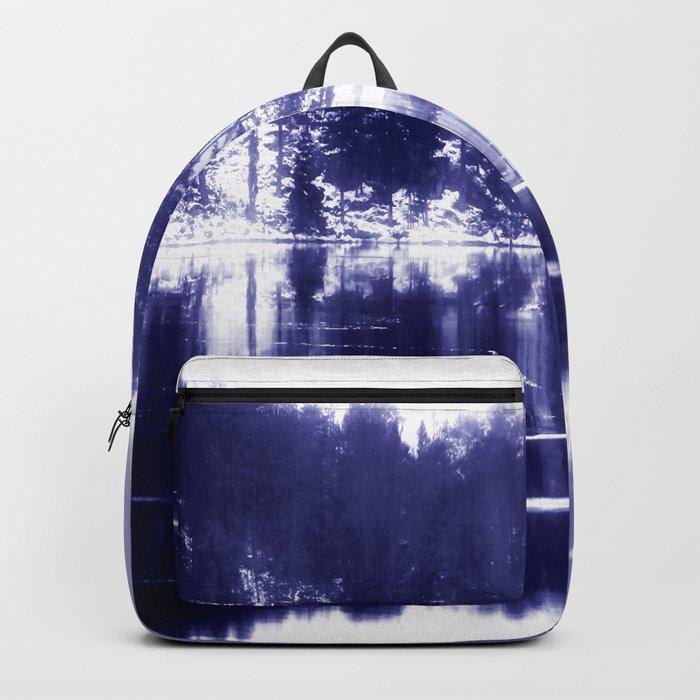 Painted scene Backpack
