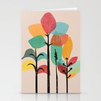 tropical Stationery Cards featuring Tropical Groove by Picomodi