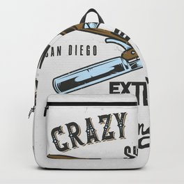Crazy Razor Show Backpack