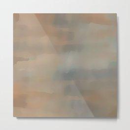 At Dusk Abstract Metal Print