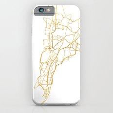 MUMBAI INDIA CITY STREET MAP ART Slim Case iPhone 6s